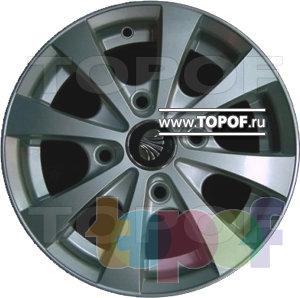 Колесные диски TECH Line 311. Изображение модели #2