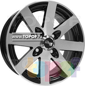 Колесные диски TECH Line 312. Изображение модели #1