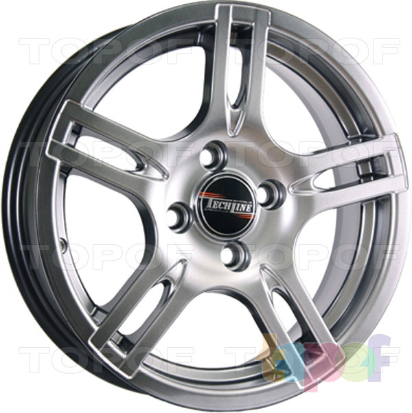 Колесные диски TECH Line 319. Цвет насыщенный серебряный