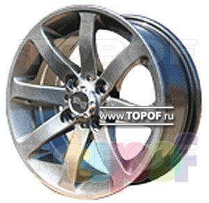 Колесные диски TECH Line 404. Изображение модели #1