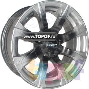 Колесные диски TECH Line 407. Изображение модели #1