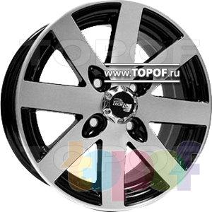 Колесные диски TECH Line 412. Изображение модели #1