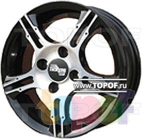 Колесные диски TECH Line 413. Изображение модели #1