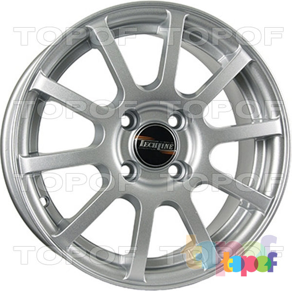 Колесные диски TECH Line 415. Цвет SD