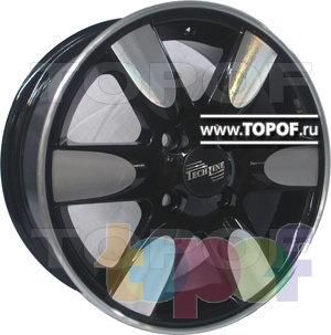 Колесные диски TECH Line 421. Изображение модели #2