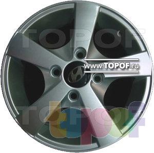 Колесные диски TECH Line 424. Изображение модели #1