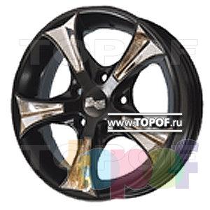 Колесные диски TECH Line 425. Изображение модели #1