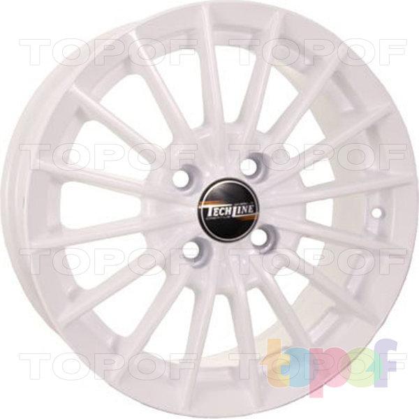 Колесные диски TECH Line 426. Цвет белый