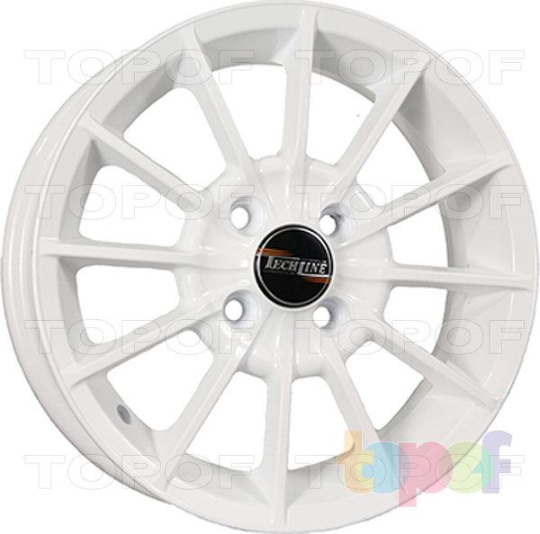 Колесные диски TECH Line 432. Цвет белый