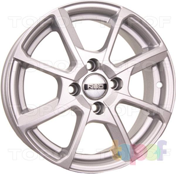 Колесные диски TECH Line 438. Цвет серебристый