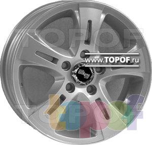 Колесные диски TECH Line 501. Изображение модели #1