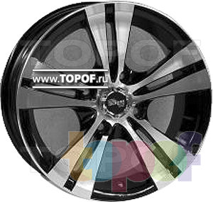 Колесные диски TECH Line 502. Изображение модели #2