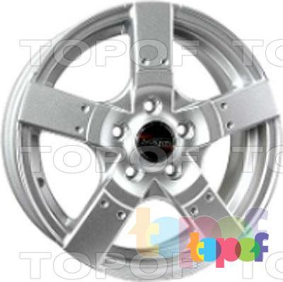 Колесные диски TECH Line 504. Изображение модели #2