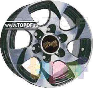 Колесные диски TECH Line 506. Изображение модели #1