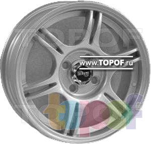 Колесные диски TECH Line 507. Изображение модели #1