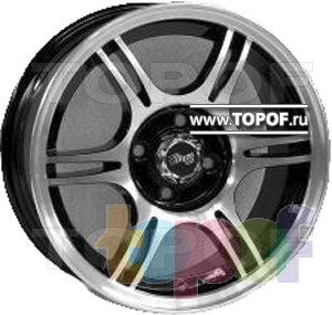 Колесные диски TECH Line 507. Изображение модели #2