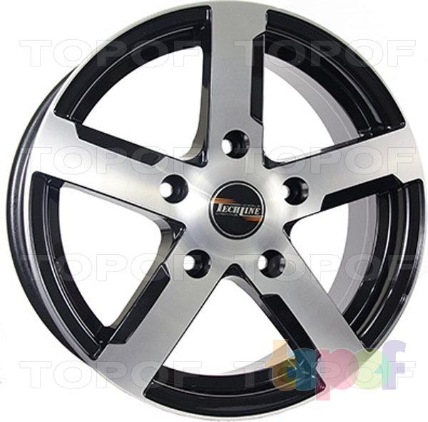 Колесные диски TECH Line 508. Цвет BD