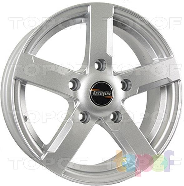 Колесные диски TECH Line 508. Цвет серебристый