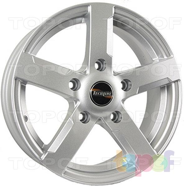 Колесные диски TECH Line 508. Цвет SD