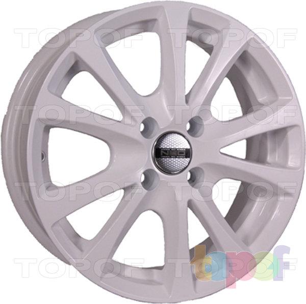 Колесные диски TECH Line 509. Цвет белый