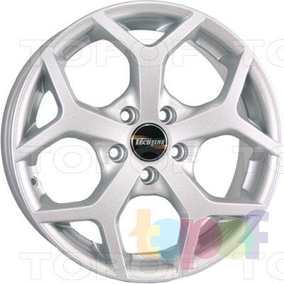 Колесные диски TECH Line 511. Изображение модели #2