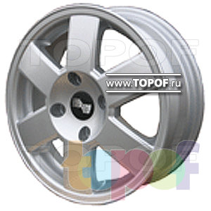 Колесные диски TECH Line 513. Изображение модели #1