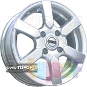 Колесные диски TECH Line 515. Изображение модели #1