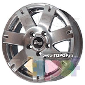 Колесные диски TECH Line 517. Изображение модели #1