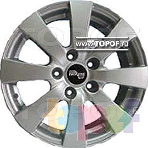 Колесные диски TECH Line 518. Изображение модели #1