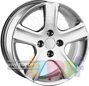 Колесные диски TECH Line 519. Изображение модели #1