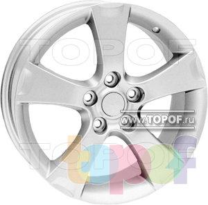 Колесные диски TECH Line 520. Изображение модели #1