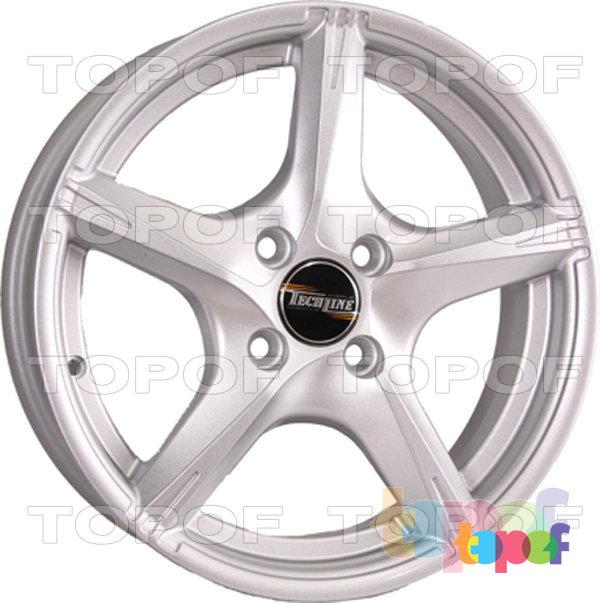 Колесные диски TECH Line 528. Цвет серебристый