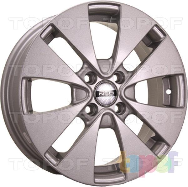 Колесные диски TECH Line 531. Цвет серебристый