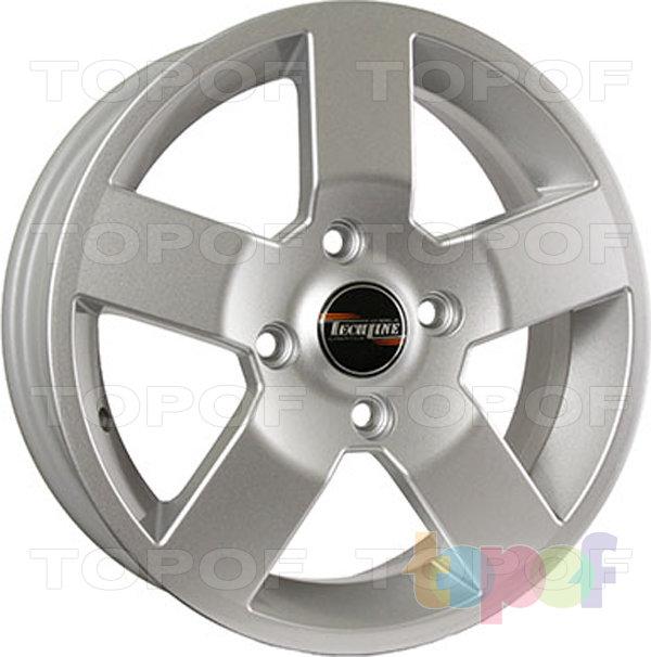 Колесные диски TECH Line 533. Цвет Silver