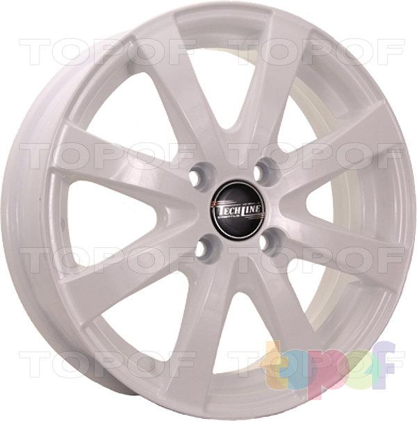 Колесные диски TECH Line 534. Цвет белый