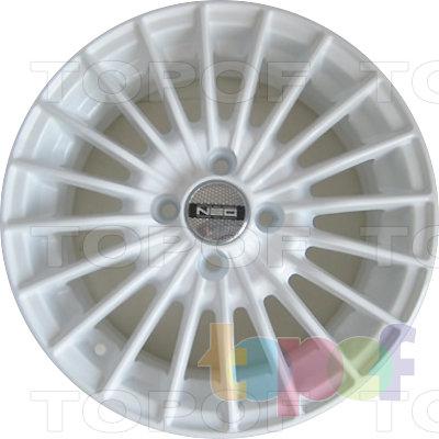 Колесные диски TECH Line 537. Изображение модели #2