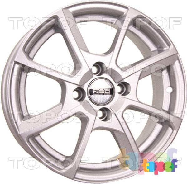 Колесные диски TECH Line 538. Цвет серебристый