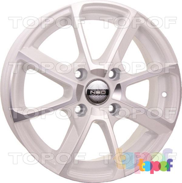 Колесные диски TECH Line 538. Цвет белый