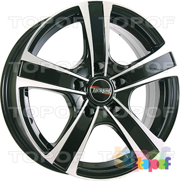 Колесные диски TECH Line 539