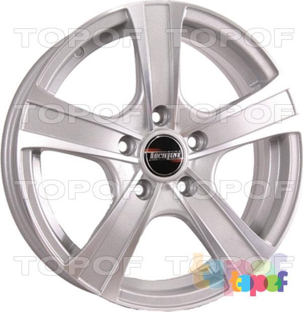 Колесные диски TECH Line 539. Цвет SD