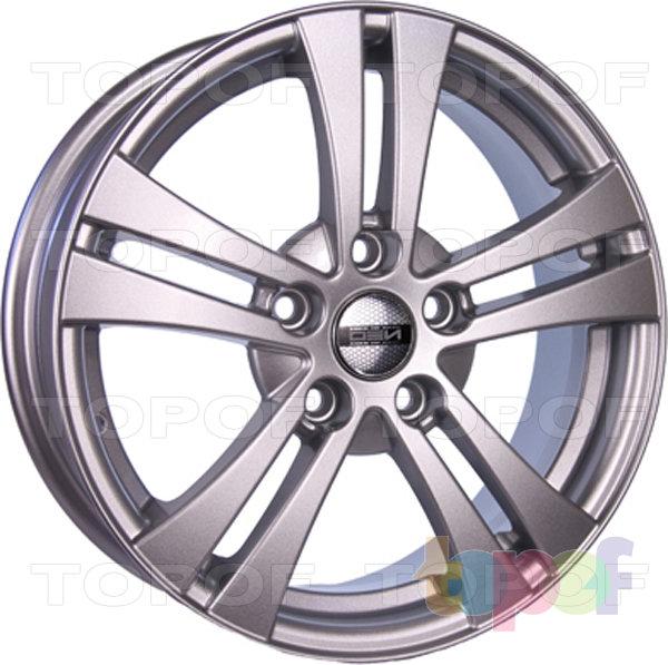 Колесные диски TECH Line 540. Цвет серебристый