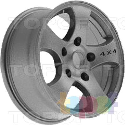 Колесные диски TECH Line 541. Изображение модели #1