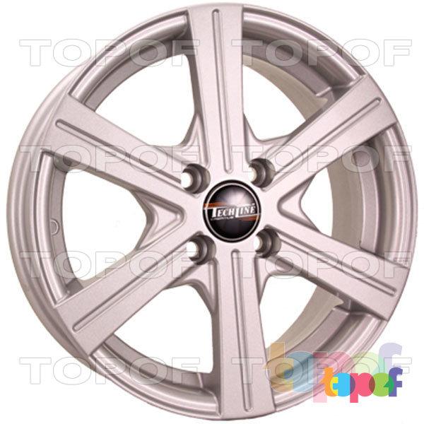 Колесные диски TECH Line 544. Изображение модели #1