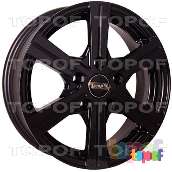 Колесные диски TECH Line 544. Изображение модели #2