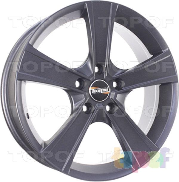 Колесные диски TECH Line 603. Цвет черный