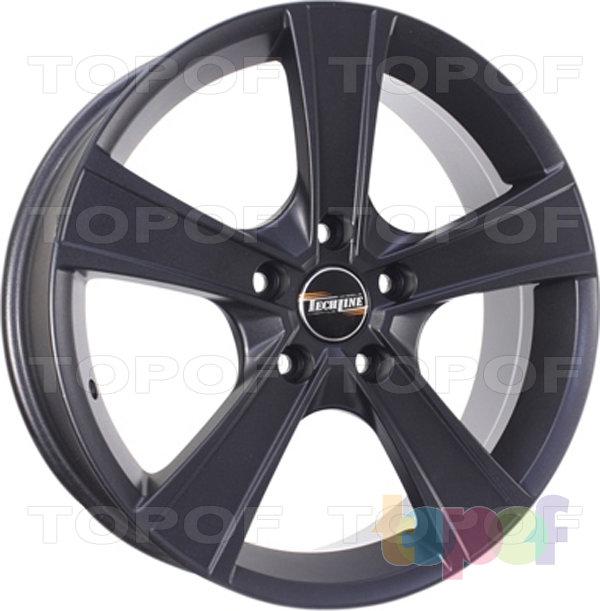 Колесные диски TECH Line 603. Цвет черный матовый