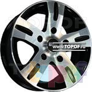 Колесные диски TECH Line 610. Изображение модели #1