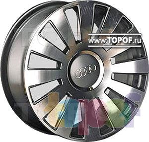 Колесные диски TECH Line 611. Изображение модели #1