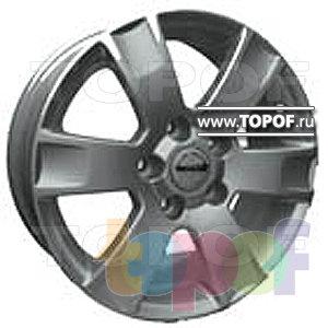 Колесные диски TECH Line 612. Изображение модели #1