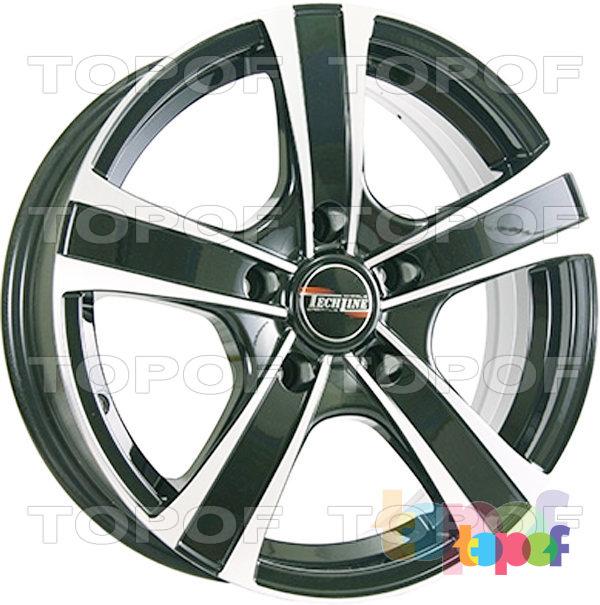 Колесные диски TECH Line 619. Цвет BDM